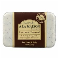 A La Maison - Bar Soap - Coconut Charcoal - 8.8 Oz
