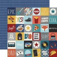 Bro & Co. Double-Sided Cardstock 12 X12 -2 X2  Elements - 1