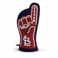 YouTheFan St. Louis Cardinals No. 1 Oven Mitt - 1 ct