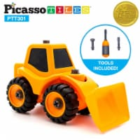 PicassoTiles PTT301 Educational Constructible DIY Take-A-Part Toy - 1