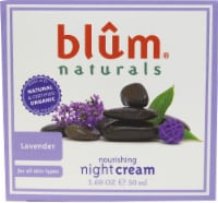 Blum Naturals  Organic Nourishing Night Cream Lavender