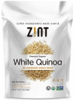Zint  Premium Organic White Quinoa De-Saponized Whole Grain
