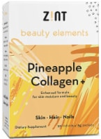 Zint  Beauty Elements Collagen + Enhanced Formula   Pineapple