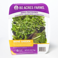 80 Acres Farms RHINE Salad Blend Mix with Microgreens