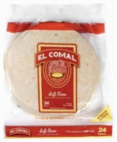 El Comal Soft Taco Tortillas 24 Count