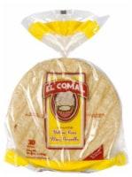El Comal Yellow Corn Ranch Tortillas 30 Count
