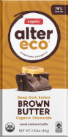Alter Eco Organic Dark Salted Brown Butter Chocolate Bar