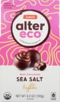 Alter Eco Organic Dark Chocolate Sea Salt Truffles