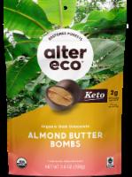 Alter Eco® Organic Dark Chcoclate Almond Butter Bombs - 9 ct / 0.4 oz