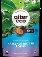Alter Eco® Organic Dark Chocolate Hazelnut Butter Bombs - 9 ct / 0.4 oz