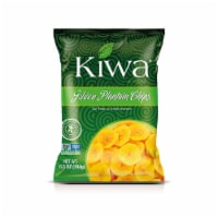 KIWA Golden Plantain Chips 6.5 Oz (5 Pack)