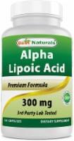 Best Naturals Alpha Lipoic Acid 300 mg 120 Capsules - 1 Bottle