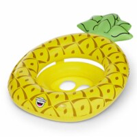BigMouth Inc. Yellow Vinyl Inflatable Pineapple Baby Float