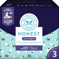 The Honest Co. Overnights Size 3 Diapers - 60 ct