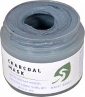 White Egret  Charcoal Mask