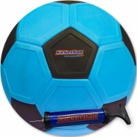 Kickerball Curve and Swerve Ball, Blue - 1