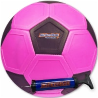 Kickerball Curve and Swerve Ball, Punky Pink - 1