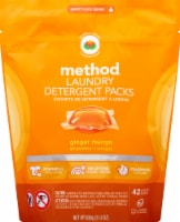 Method Ginger Mango Laundry Detergent Packs
