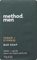 Method Men's Cedar & Cypress Bar Soap