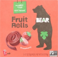 Bear Real Fruit Strawberry Yoyos