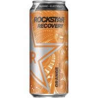 Rockstar Recovery Orange Energy Drink