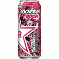 Rockstar Boom Whipped Strawberry Energy Drink