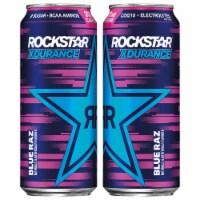 Rockstar XDurance Blue Raz Energy Drink
