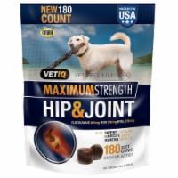 VetIQ Hip & Joint Chews for Dogs, 180 Count - 1 unit