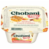 Chobani® Flip® Perfect Peach Cobbler Low-Fat Greek Yogurt - 5.3 oz