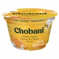 Chobani Honey & Cream Blended Greek Yogurt