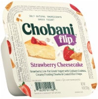 Chobani Flip Strawberry Cheesecake Low Fat Greek Yogurt