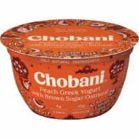 Chobani® Peach/Brown Sugar Oatmeal Greek Yogurt