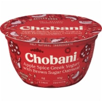 Chobani® Apple Spice/Brown Sugar Oatmeal Greek Yogurt