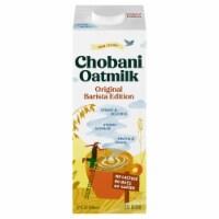 Chobani Plain Barista Edition Oat Drink