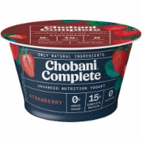 Chobani Complete Ultra Cup Strawberry Yogurt