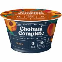 Chobani Complete Peach Lactose-Free Yogurt