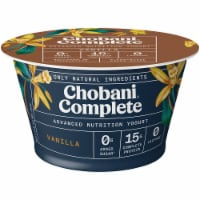 Chobani Complete Vanilla Advanced Nutrition Greek Yogurt