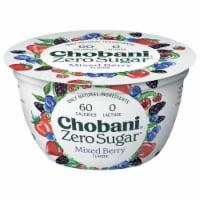 Chobani® with Zero Sugar Mixed Berry Greek Yogurt - 5.3 oz