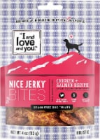 I and Love and You Nice Jerky Chicken & Salmon Bites - 4 oz