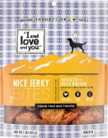 I and Love and You  Nice Jerky Bites   Chicken & Duck Recipe