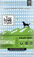 I and Love and You  Naked Essentials Grain Free Dog Food   Lamb & Bison