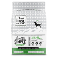 I and Love and You Lovingly Simple with Lamb + Sweet Potato Limited Ingredient Dog Food