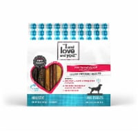 I and Love and You  Cow-Boom Strips Dog Treats    Beef