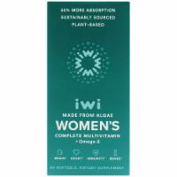 iWi Algae-Based Women's Complete Multivitamin + Omega-3 - 60 ct