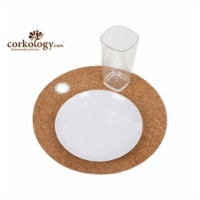 Corkology RDRM Round Charger With Ring