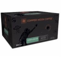 Copper Moon Medium Roast Costa Rican Blend Single Serve Coffee Pods - 80 ct