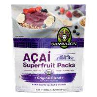 Sambazon Organic Original Acai Blend Superfruit Pack