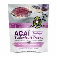 Sambazon Pure Unsweetened Acai Berry Superfruit Packs