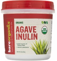 BareOrganics Agave Inulin Powder Raw - 8 oz