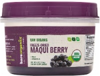 BareOrganics  Maqui Berry Powder Freeze-Dried Raw